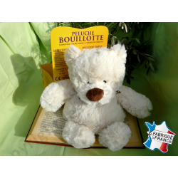 Peluche bouillotte Ours